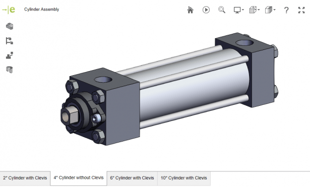 eDrawings - Cylinder Assembly