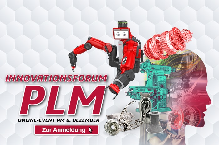 Innovationsforum PLM: Online-Event am 8. Dezember 2020
