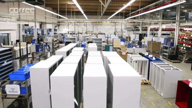 Übersicht Produktion C+P Möbelsysteme
