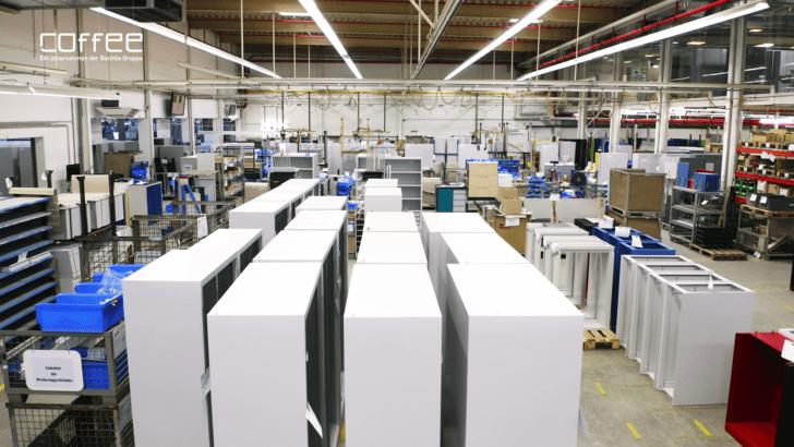 C+P Möbelsysteme – Industrielle Eleganz im Stahlmöbelbau mit SOLIDWORKS
