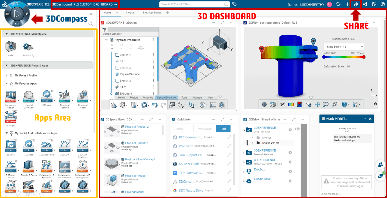 3DDashboard