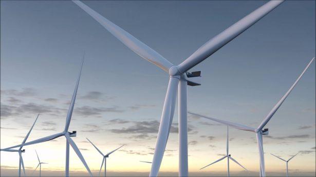 bewind: Windkraftanlage