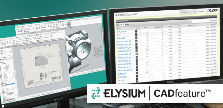 Automatisierte Migration mit Elysiums CADfeature – Der Umstieg auf SOLIDWORKS war noch nie so einfach