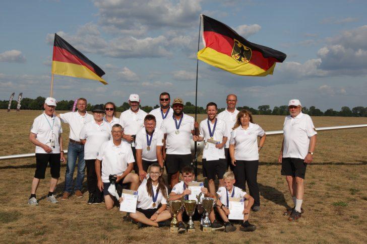 Der Höhenflug der deutschen Modellsegelflieger setzt sich fort: Ein Bericht von der Europameisterschaft F3J 2019
