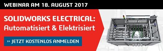 Webinar: SOLIDWORKS ELECTRICAL – Automatisiert & Elektrisiert