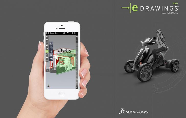 Augmented und Virtual Reality mit eDrawings macht Ihre 3D-CAD-Modelle greifbarer