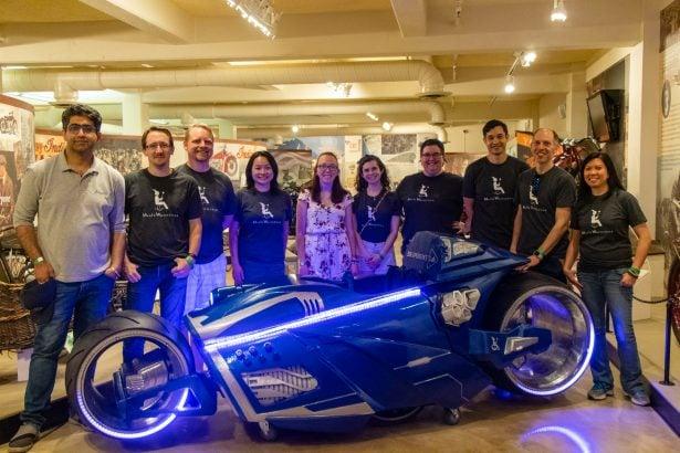 Das strahlende Projektteam hinter Bens Magic Wheelchair