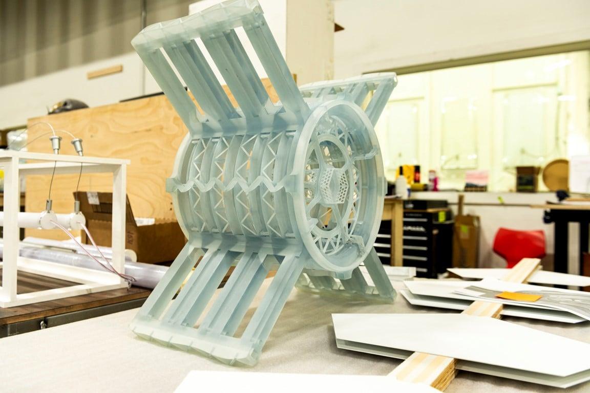 3D-Druck Bauteil für die Grand Challenge
