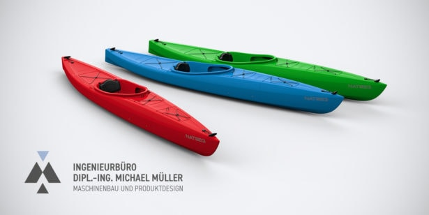 Rendering Kajak von Kayak Innovations