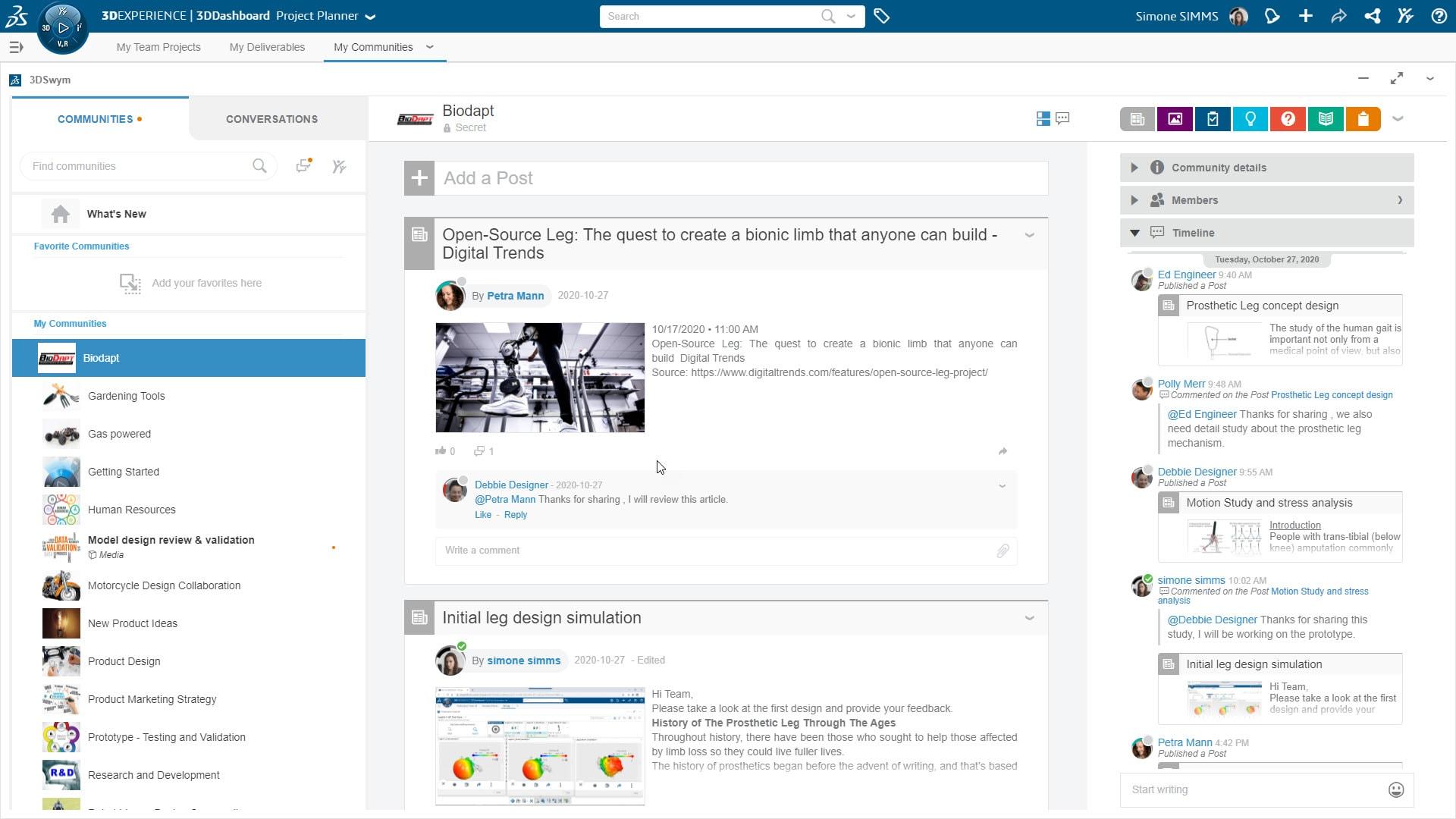 Arbeiten Sie auf der 3DEXPERIENCE® Plattform für eine einfachere Zusammenarbeit