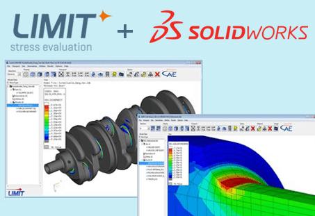 Jetzt auch für SOLIDWORKS verfügbar: LIMIT – From stress to safety!