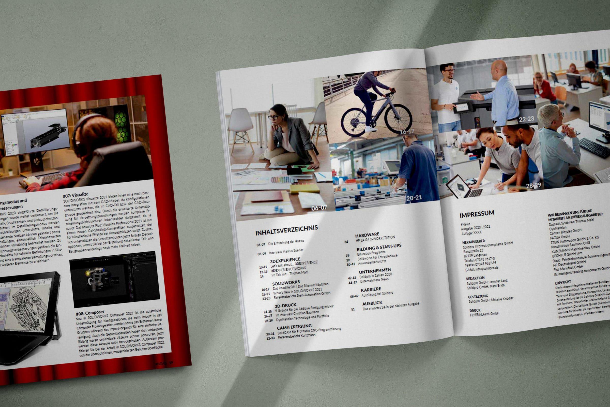 Solidpro Kundenmagazin #NEWS