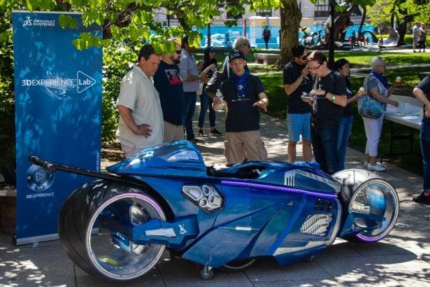 Die Vorstellung von Bens Magic Wheelchair - einem sehr besonderen Motorrad.
