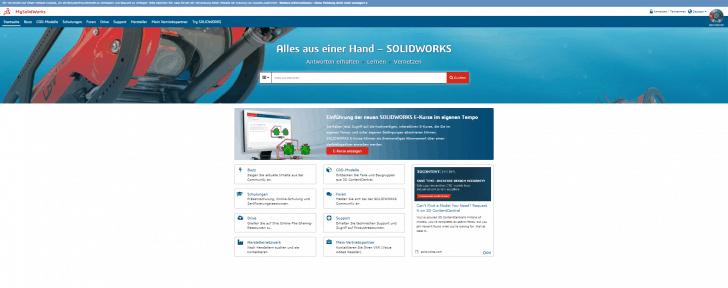 Neue Online-Testversionen und Kurse – auf MySolidWorks