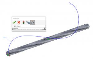 3D-Skizze Bahn