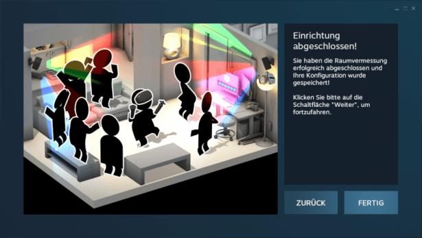 SOLIDWORKS eDrawings VR_Einrichtung_abgeschlossen