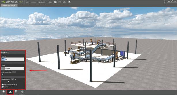 SOLIDWORKS eDrawings VR_Umgebung_anpassen