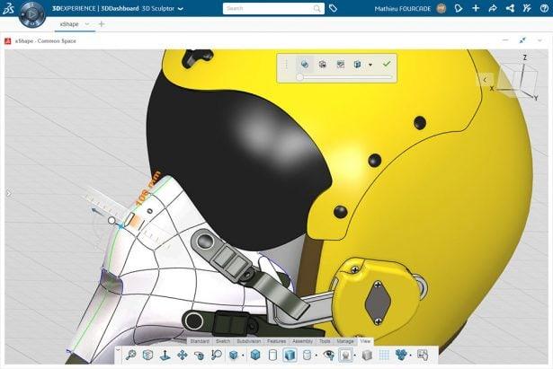 Neu auf der 3DEXPERIENCE Plattform: 3D Skulptor