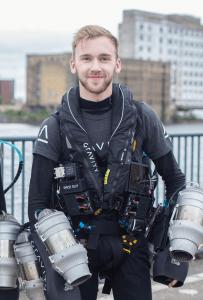 3DEXPERIENCE World 2020: Sam Rogers, Leiter Additives Design und Jet Suit-Pilot bei Gravity Industries