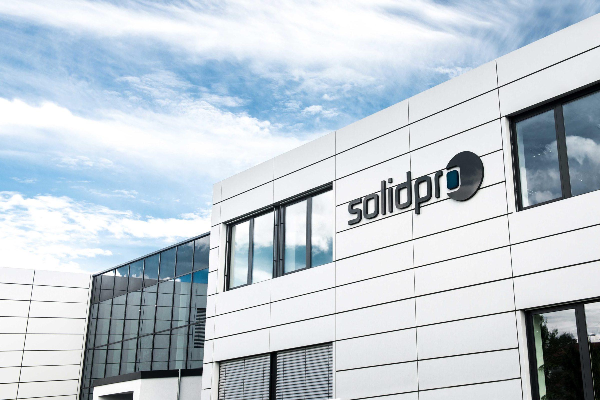 Solidpro Firmengebäude in Langenau