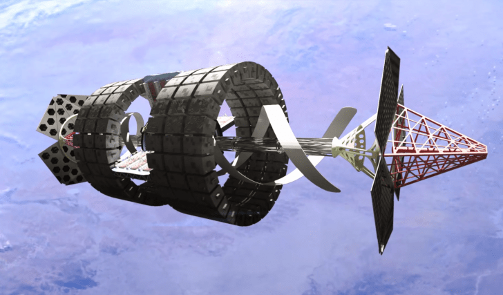 SOLIDWORKS Grand Challenge: Als Team konstruierten wir eine Raumstation