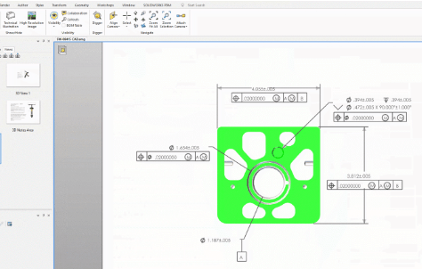 Neue Funktionen in SOLIDWORKS Composer 2019