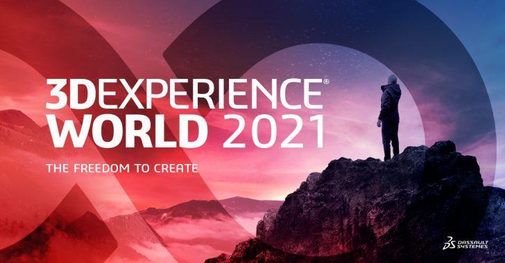 Die virtuelle 3DEXPERIENCE World 2021 beginnt heute! Hier erfahren Sie, was Sie erwartet