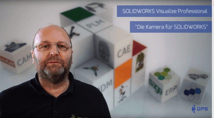 "Video-Tipp! SOLIDWORKS Visualize Professional – Die ""Kamera"" für SOLIDWORKS"