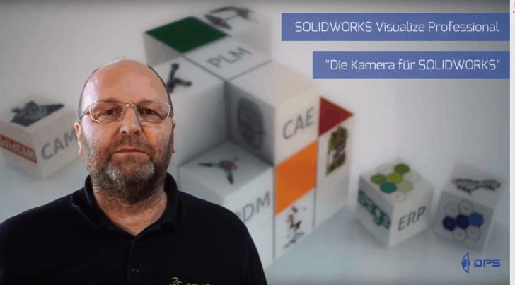 """Video-Tipp! SOLIDWORKS Visualize Professional – Die """"Kamera"""" für SOLIDWORKS"""
