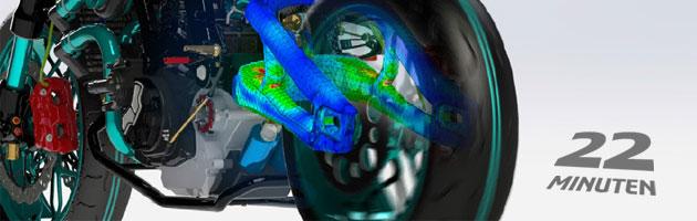 22-Minuten-Webinar: Struktursimulation für Konstrukteure, Ingenieure und Spezialisten