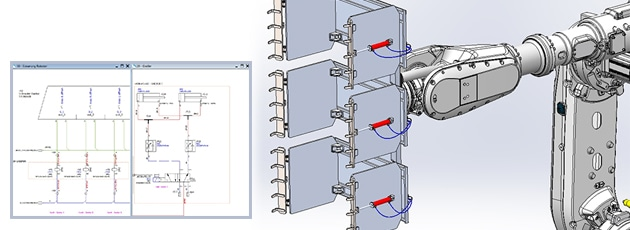 Webinar: Mehr als heiße Luft! SOLIDWORKS Electrical-Hydraulik-Pneumatik