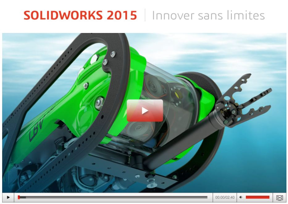 SOLIDWORKS 2015 est désormais disponible