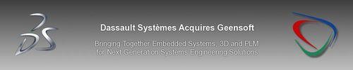 Dassault Systèmes acquiert Geensoft