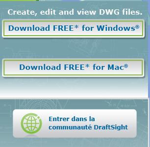 DraftSight sur Mac OS
