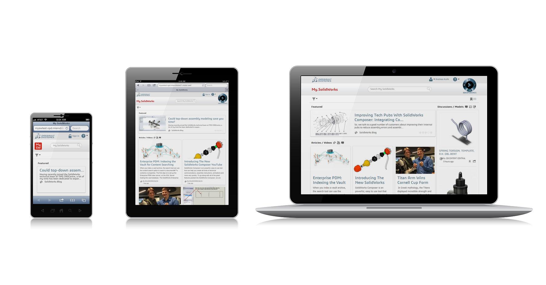 Découvrez les nouvelles fonctionnalités disponibles sur My.SolidWorks.com