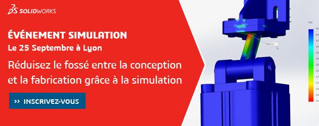 Séminaire SOLIDWORKS Simulation à Lyon le 25 Septembre