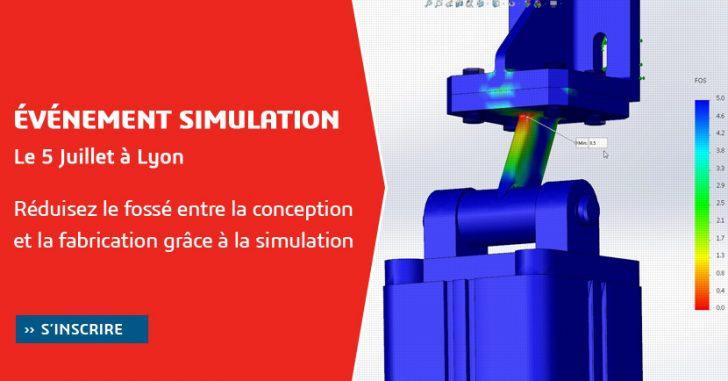Séminaire SOLIDWORKS Simulation à Lyon le 5 Juillet