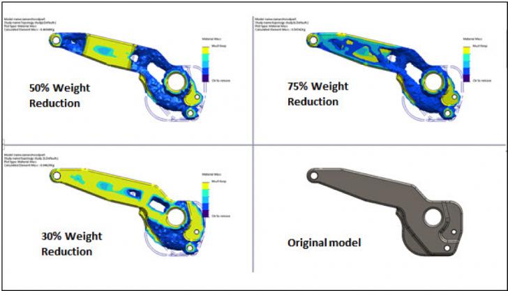 L'étude de topologie avec SOLIDWORKS Simulation 2018