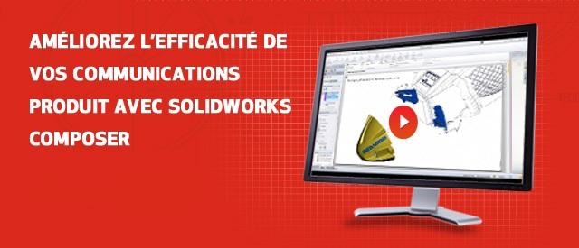 Présentation en ligne de SOLIDWORKS Composer : 19 Octobre à 11h
