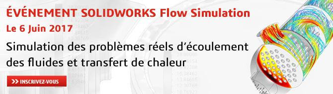 ÉVÉNEMENT SOLIDWORKS FLOW SIMULATION: 6 JUIN CHEZ DASSAULT SYSTÈMES