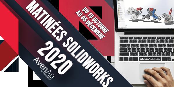 Matinées SOLIDWORKS 2020