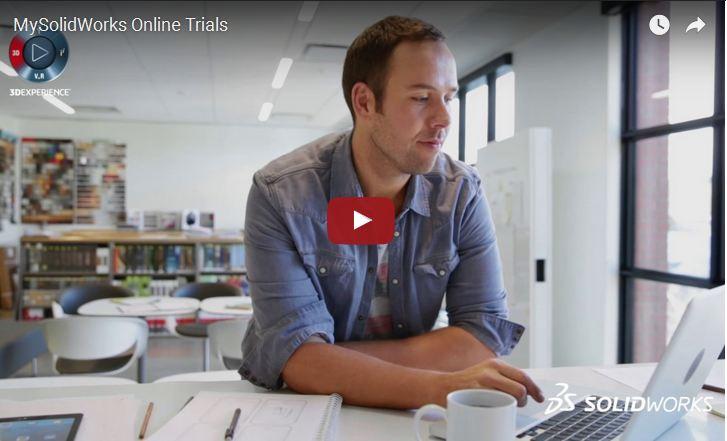 Les toutes dernières versions d'essai et formations en ligne sont désormais disponibles sur MySolidWorks.