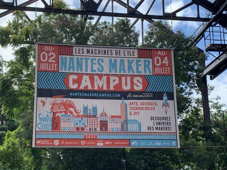 Retrouvons les makers au Nantes Maker Campus 2021