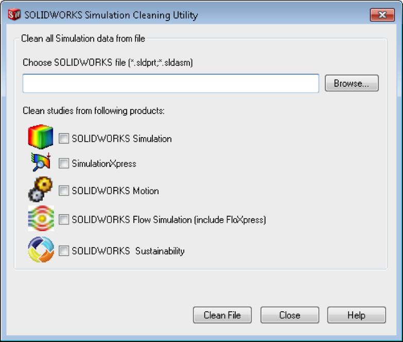 Pleins feux sur une fonctionnalité: L'utilitaire de nettoyage SOLIDWORKS Simulation (SOLIDWORKS Simulation Cleaning Utility)
