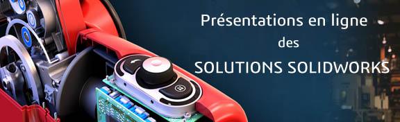 Présentations en ligne: Exalead OnePart & SOLIDWORKS PDM Pro