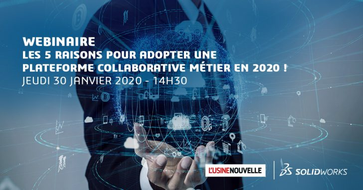 WEBINAIRE  « Les 5 raisons pour adopter une plateforme collaborative métier en 2020 ! »