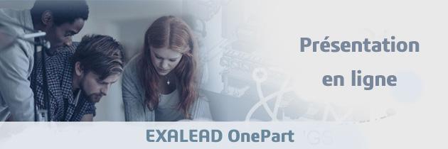 Présentation en ligne : EXALEAD OnePart