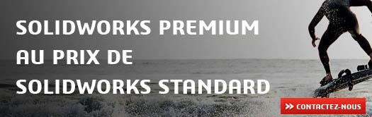 PROMO: SOLIDWORKS Premium au prix de la version Standard