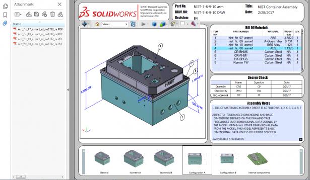 Cómo gestionar archivos adjuntos PDF 3D