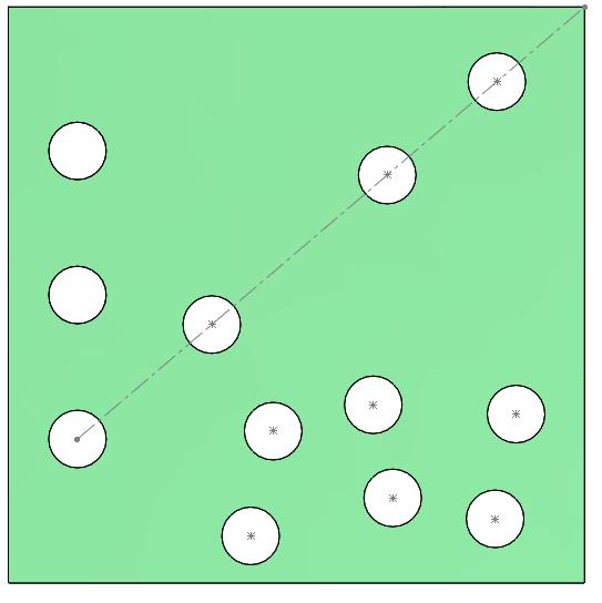 matriz conducida por croquis